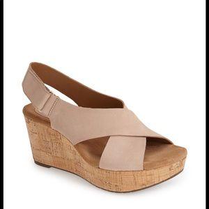 Clark's Caslynn Shae Wedge Sandal